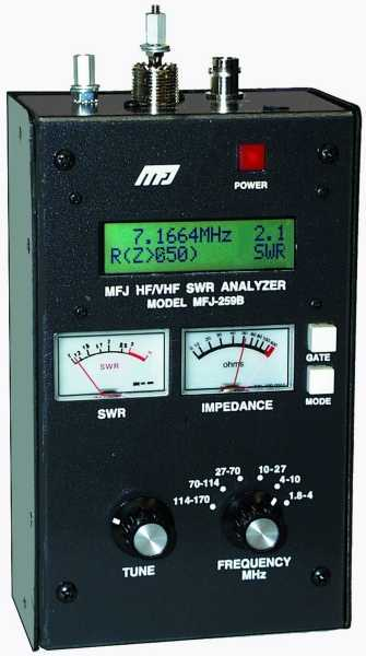 MFJ-259B Antenna Analyzer