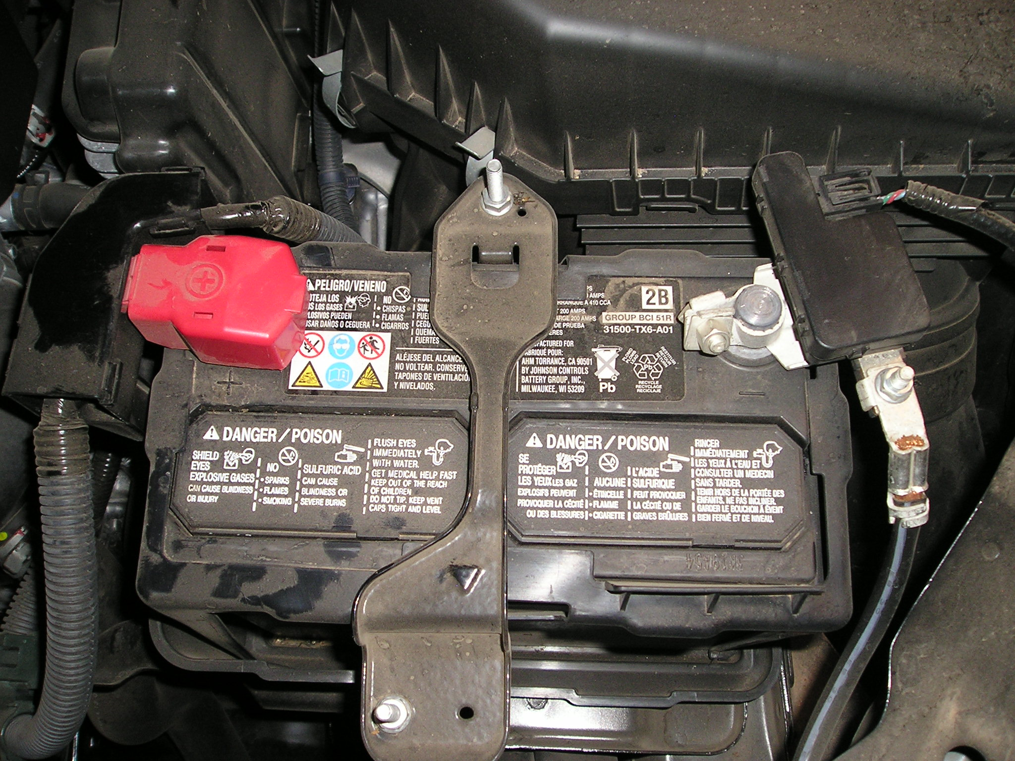 Wiring Grounding Engine Harness To Battery